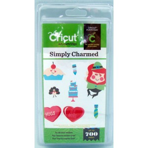 Cricut Shape Cartridge Simply Charmed Item 20-00334